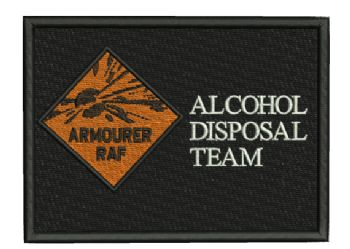 ALCOHOL DISPOSAL TEAM EMBROIDERED CAP